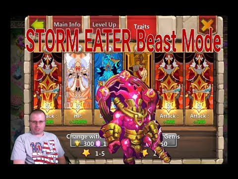 Storm Eater Beast Traits Castle Clash