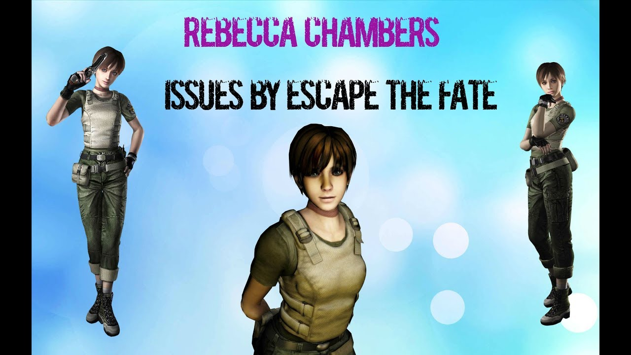 ► Rebecca Chambers ϟ Resident Evil   ☢  Issues ☢