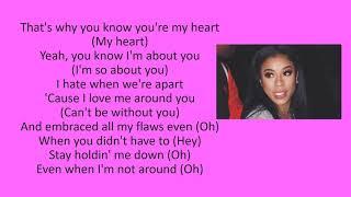 Kehlani - All Me ft. Keyshia Cole (lyrics)