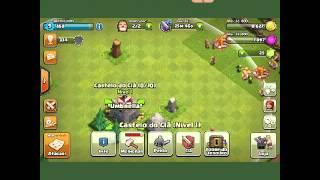 Clash of clans #2 NÃO FOI DESSA VES :(
