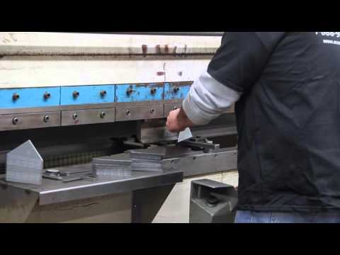 Ocean Works Inc. Metal Fabrication Shop: Press Brake
