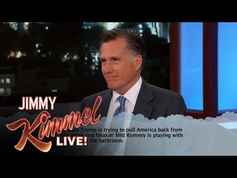 Mitt Romney Reads Mean Donald Trump Tweets