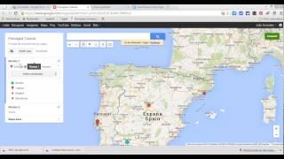 Aprende a usar Google My Maps en google Drive Free HD Video