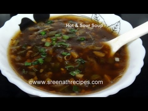 Hot and sour vegetable soup recipe youtube forumfinder Gallery