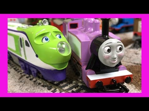 Modelling Railway Toy Train Scenery -Amazing Ideas For Rosie, Emily, Mavis, and Koko! HO Scale Bachmann Trains Thomas & Friends vs Chuggington