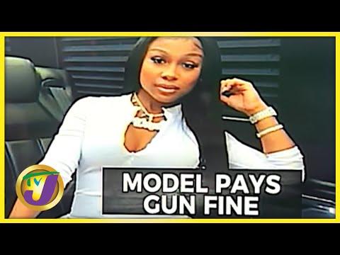 Jayda Cheaves Pays $800,000 Gun Fine in Jamaica   TVJ News - Sept 29 2021