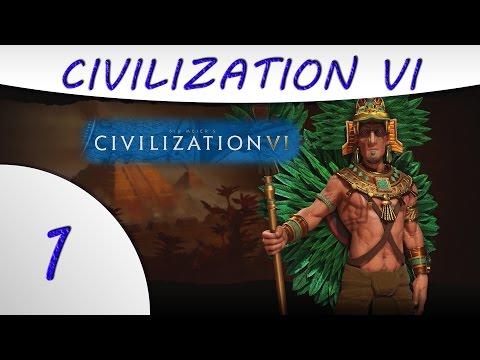 Civilization 6 - Aztec - Montezuma - Part 1