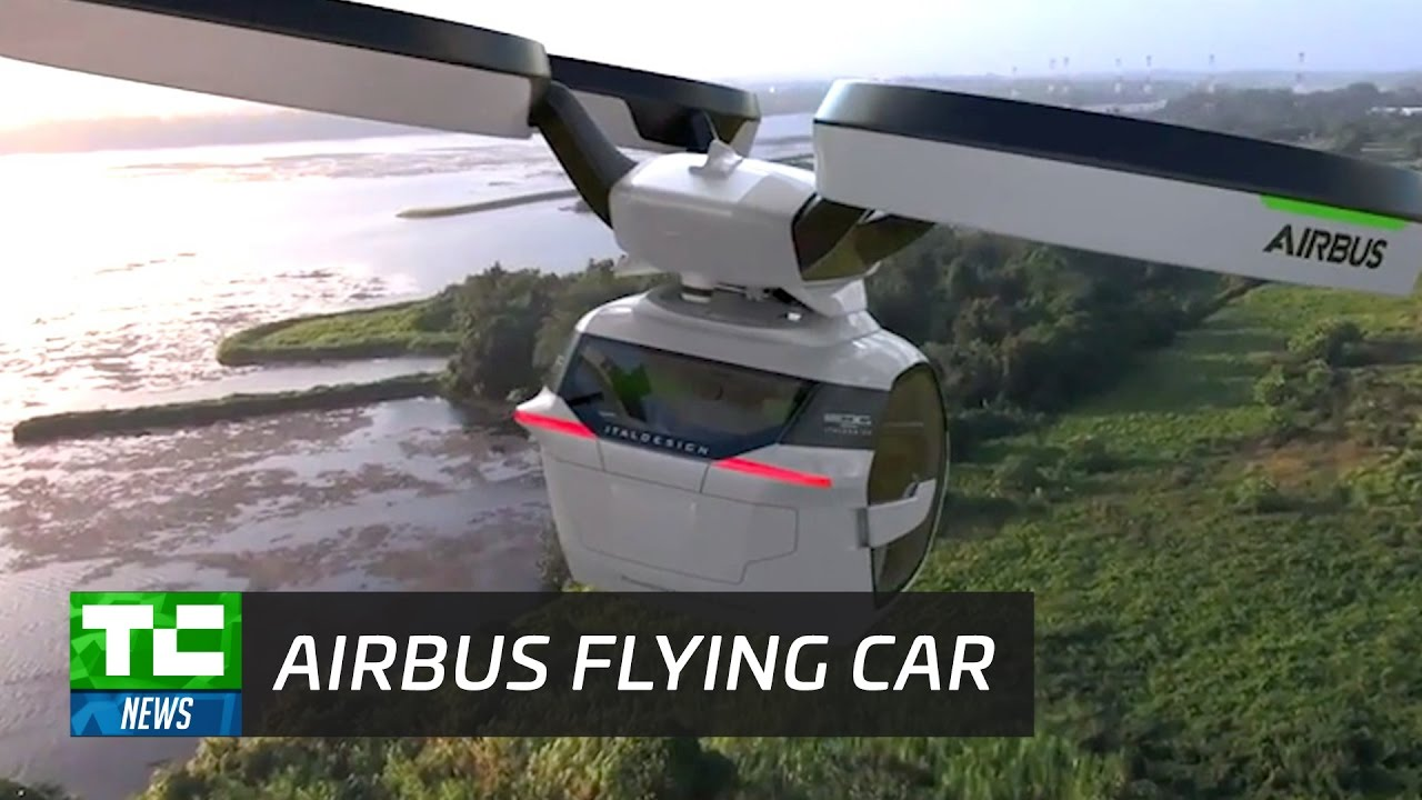 Airbus Reveals Flying Car Concept Youtube