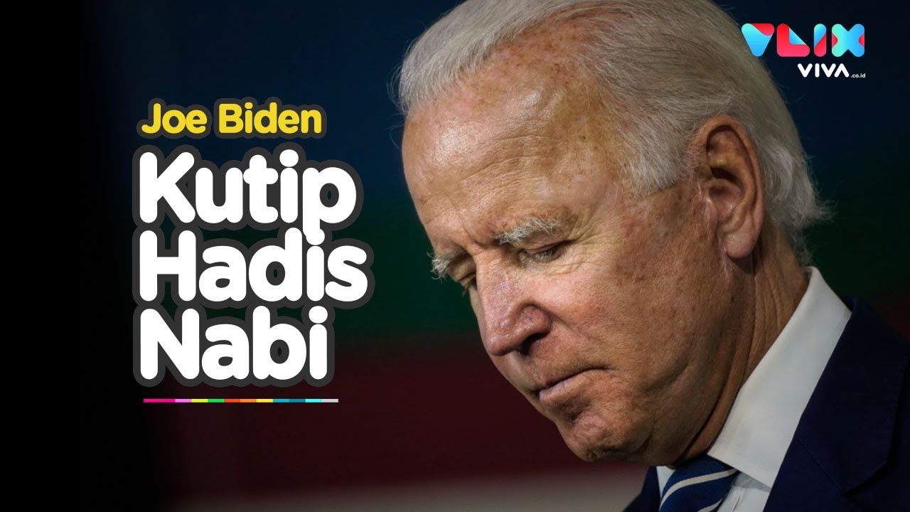 Kutip Hadis Nabi Capres As Joe Biden Cari Dukungan Muslim Youtube