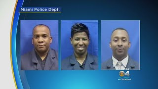 Undercover Operation Lands 3 Miami Police Officers Behind Bars Facing Federal Charges