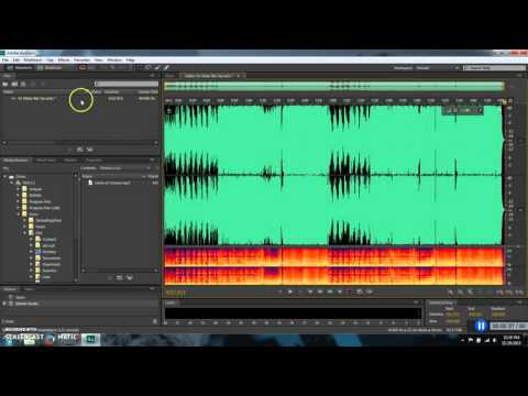 How to convert m4a to mp3, and how to delete silence in a song.