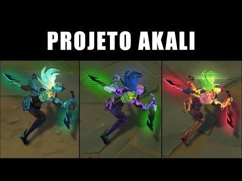 PROJETO: Akali - Croma skin