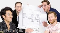 The Try Guys Enter The New Yorker Cartoon Caption Contest   The New Yorker