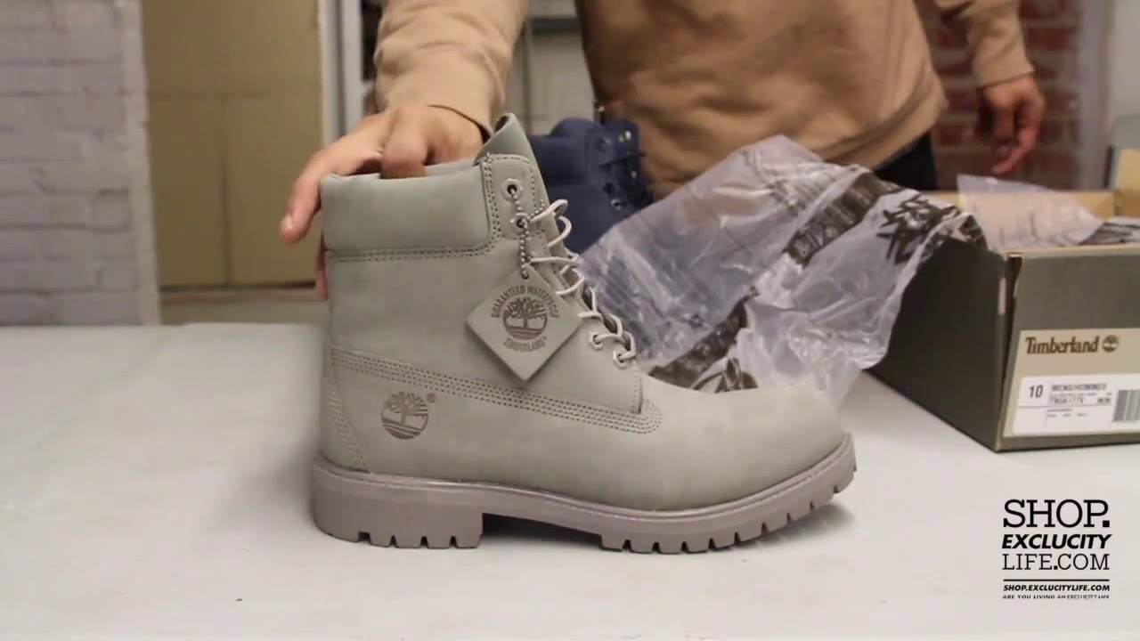 Timberland 6 Inch Mono Grey Unboxing