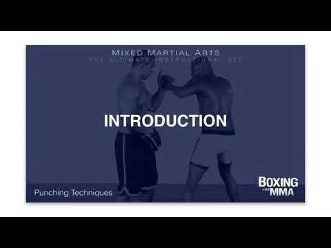 Anderson Silva   Boxing for MMA