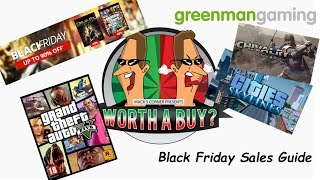 Worthabuy Black Friday Guide on Greenman Gaming