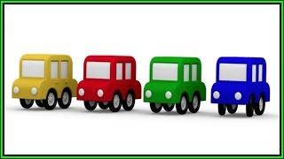 MAGIE ARCH! Cartoon-Autos - Erfahren Sie Farben, Cartoons für Kinder.Videos für Kinder.Kinder-Cartoons
