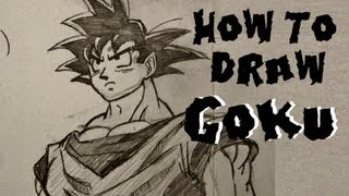 Ep. 13  How to draw Goku Part 1 of 2