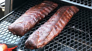 Babyback Ribs on LSG | Wrapped vs Unwrapped