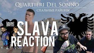 REACTION/PRANK |SLAVA - QUARTIERI DEL SONNO | RISSA IN DIRETTA FINITA MALE | FADA & BARLOW