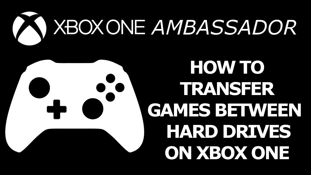 How To Transfer Games Between Internal External Hard