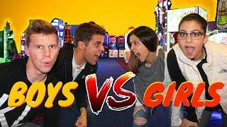 ARCADE GAME BATTLE: BOYS vs GIRLS