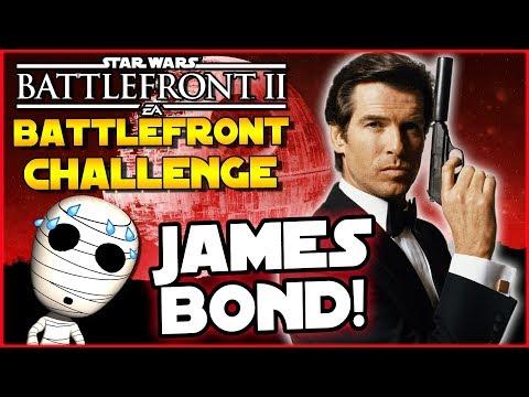 James Bond! Battlefront Challenge #20 - Star Wars Battlefront 2 Loadout Challenge thumbnail