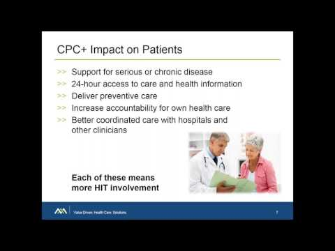 Webinar - CPC+ Health IT Requirements