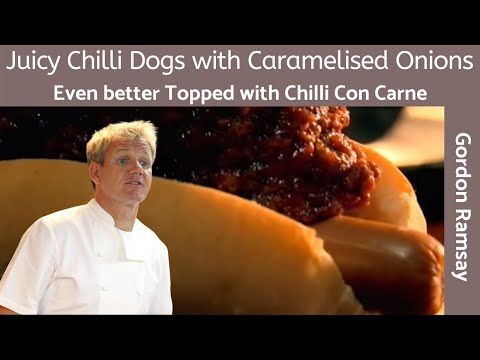 Classic Chilli Dogs Recipe (How-to Make Homemade Chili) - Gordon Ramsay