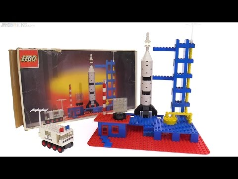 LEGO Rocket Base from 1973 reviewed 🚀 set 358