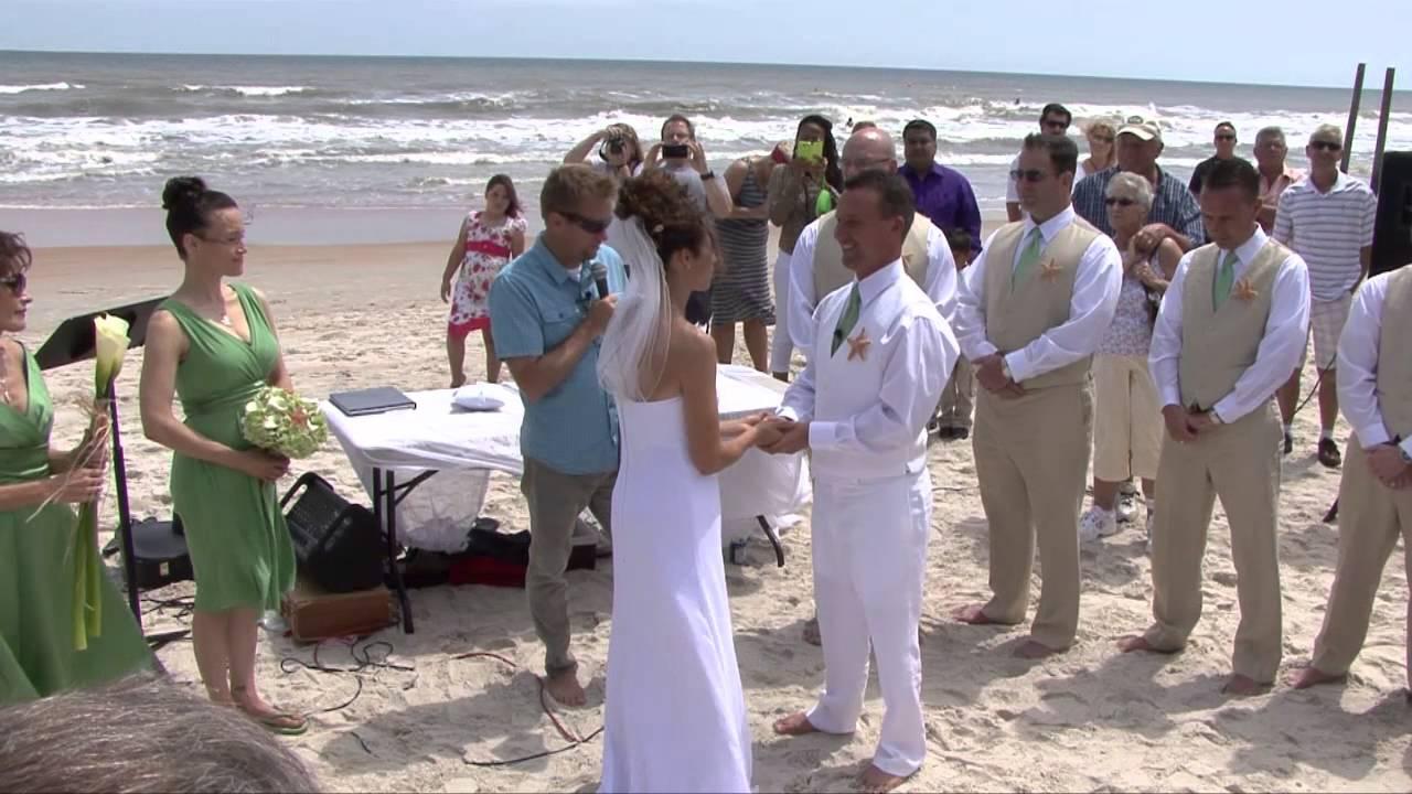 Kevin Pam Reiser Wedding Day Highlights Daytona Beach Florida