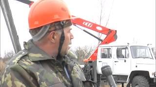 Установка новые железобетонных опор в г.Свободном(, 2013-10-10T01:26:02.000Z)