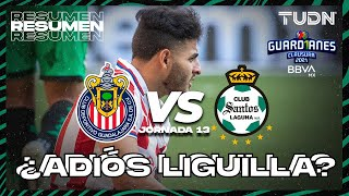Resumen y goles   Chivas vs Santos   Torneo Guard1anes 2021 BBVA MX - J13   TUDN