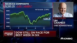 Jim Cramer on which stocks could reflect the real economy