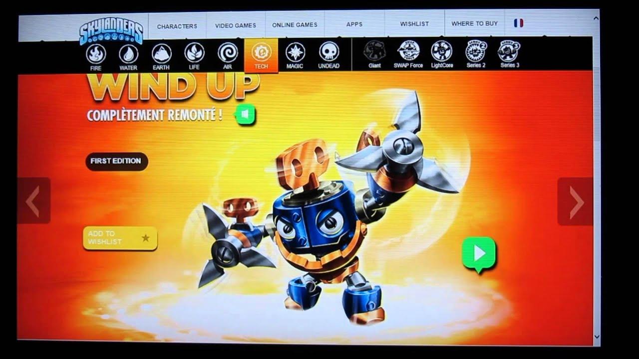 Skylanders swap force tous les nouveaux personnages de la classe tech youtube - Tous les skylanders ...