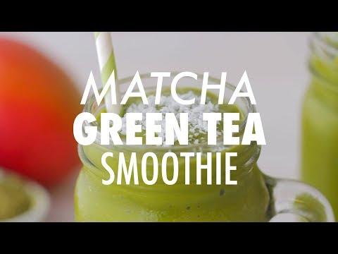 Matcha Green Tea Smoothie - Loving It Vegan