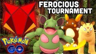 Ferocious cup tournament in Pokemon GO | My Epic fails