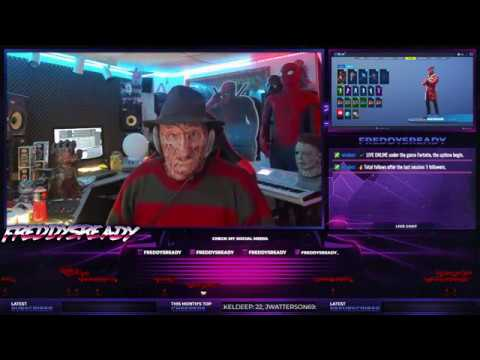 Giveaway Today! - Freddy Krueger Cosplay - Fortnite PS4