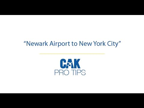 Newark Airport to New York City