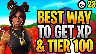 How To Level Up + Get Tier 100 FAST In Season 8! (Fortnite Season 8 Battle Pass)
