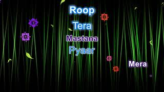 Roop Tera Mastana Karaoke with lyrics