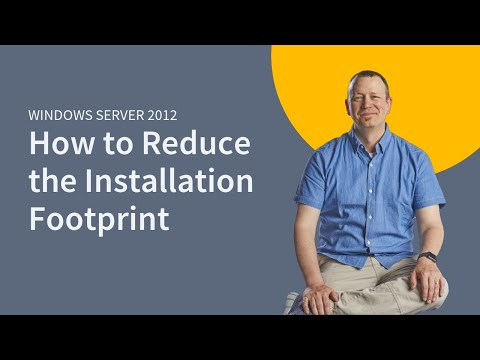 MicroNugget: How to Reduce the Server 2012 Installation Footprint