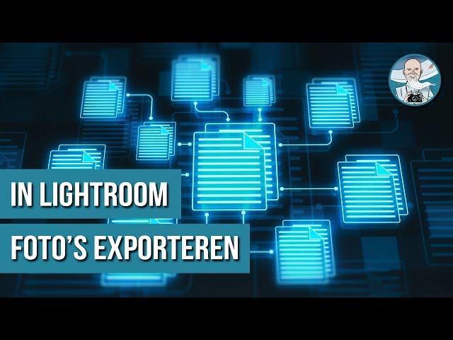 Foto's Exporteren in Lightroom