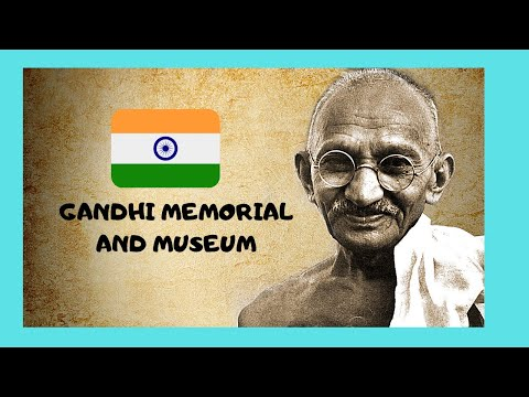 DELHI, the must-see GANDHI MEMORIAL and the GANDHI MUSEUM (INDIA)