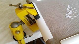 «Тиски поворотные Topex»- лучший станок для вышивальщицы/обзор