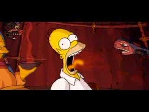 The Simpsons Movie Trailer 4 Youtube