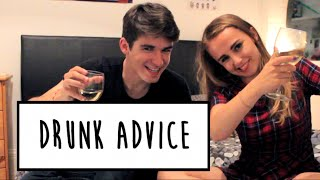 DRUNK ADVICE WITH TIM H | Hannah Witton