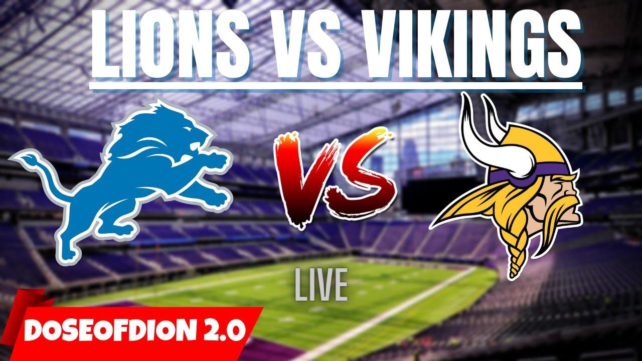 Minnesota Vikings vs. Detroit Lions: Inactives list