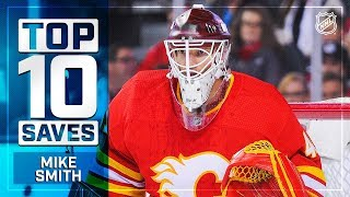 Top 10 Mike Smith saves from 2018-19