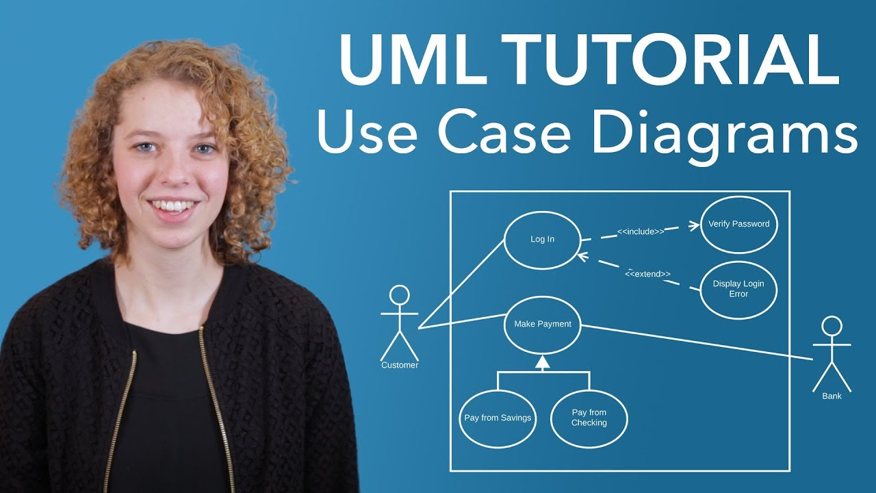 uml use case diagram tutorial [ 1280 x 720 Pixel ]